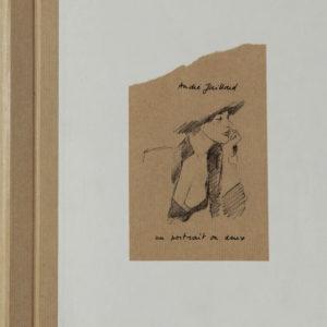 Un portrait ou deux – André Juilliard – Tirage de luxe tiré à 300 ex. porte le n° 32 – Editeur Daniel Maghen – D.L. Octobre 2006 –