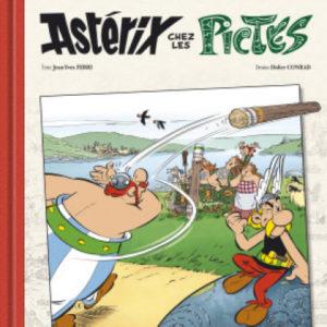 Astérix chez les Pictes – Édition de Luxe Tome 35 – Texte Jean-Yves Ferri – Dessins Didier Conrad – R. Goscinny & A. Uderzo – Hachette – D.L. Octobre 2013 –