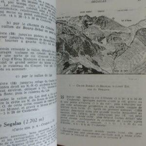 Pyrénées Centrales Tome 1 & 2 – Tome 1 Cauterets, Vignemale, Gavarnie & Tome 2 Bigorre, Arbizon, Néouvielle, Troumousse – Édition R. Olivier 1979 & 1984 –