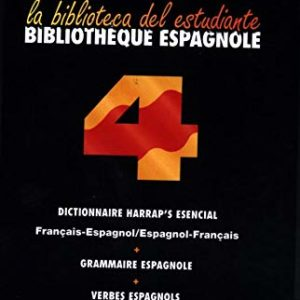 Bibliothèque espagnole – La biblioteca del estudiante – Coffret 4 ouvrages de poche – Harrap's –