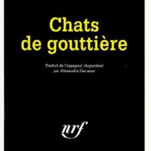 Chats de gouttière – Rolo Diez – NRF – Série Noire – Gallimard – 1998 –