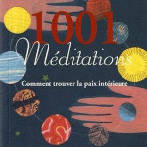 1001 Méditations : Comment trouver la paix intérieure – Mike George – Éditions Guy Trédaniel – 2004 –